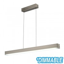 Dimming Linear LED Commercial Lighting Bench Lights Pendants Suspended