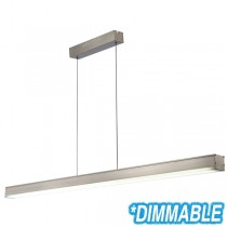 Cheap Aluminium Extrusion Lighting Pendants LED Linear Bench Lights Suspended Commercial