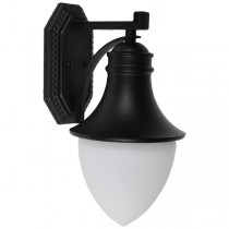 IP44 Kansas Industrial Lighting Exterior Wall Lights Matte Black Outdoor