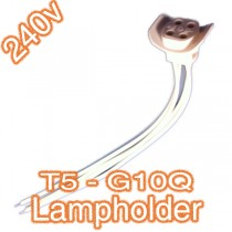 T5 Lampholder G10Q Lamp Lead 240v Fluorescent Lighting