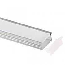 LED Strip Cover SLT4050 2m Extrusion Aluminium Track Channel Lights