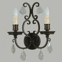 Louis 15th 2 Lights Sconce Interior Wall Lighting Lode International