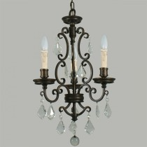 Louis 15th 3 Lights Pendants Lighting Colonial Traditional Lode International