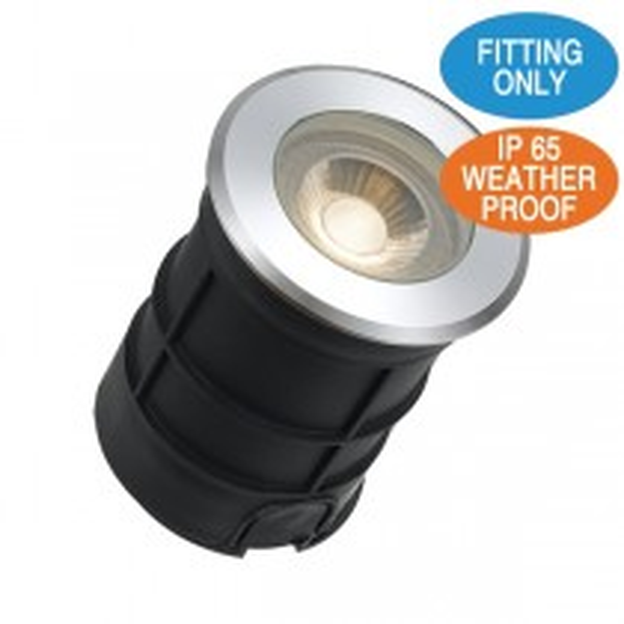 Aluminium LED Lights LUC G3 In Ground Uplighter Driveway Garden Lighting Pathway