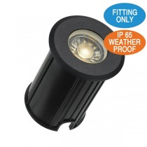 Black LED Lights LUC G3 In Ground Uplighter Driveway Garden Lighting Pathway