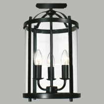 Manor Bronze Lanterns Lights Flush Hanging Lighting Lode International