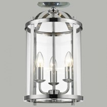 Manor Chrome Lanterns Lights Flush Hanging Lighting Lode International
