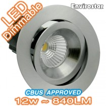 Nickel Designer LED Downlight Kit MDL603 Telbix