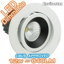 Telbix Downlight MDL603 Black Designer LED Kit
