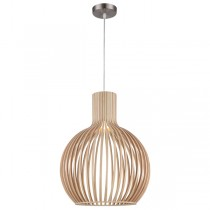Timber Lights Replica Seppo Koho Octo Coastal Beachy Pendants Lighting
