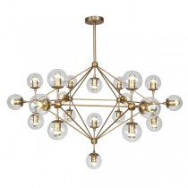 Modo Gold Lights Chandelier Replica Jason Miller Lighting Ceiling Foyer Void