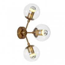 Replica Jason Miller Gold Wall Lights Modo Lighting Roll & Hill