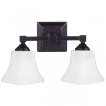 Bronze Monroe Bathroom Wall Lights Sconce Contemporary Lighting Lode International