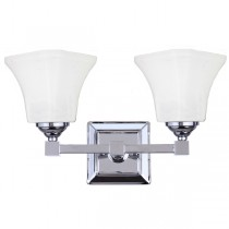 Monroe Bathroom Wall Lights Chrome Vanity Sconce Contemporary Lighting Lode International