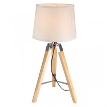 Timber Tripod Table Lamps Natural Lighting Marden Design