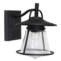 Notty IP44 Outdoor Lighting Exterior Cage Period Wall Lights Matte Black
