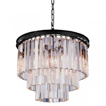 Crystal Chandelier Odeon Lights Cage Classical Lighting Lode International