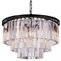 Odeon Crystal Chandelier Lights Cage Classical Lighting Lode International