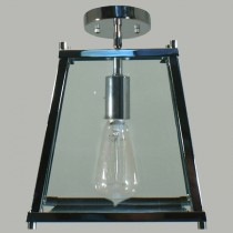 Chrome Southampton Lights Oregon CTC Ceiling Lighting Industrial Flush