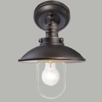 Port Outdoor Under Eave Light Bronze Lode International