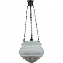 Patina Black Premier 3 Chain Pendants Lights Suspensions Lode Lighting Traditional