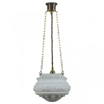 Premier 3 Chain Pendants Lights Suspensions Lode Lighting Brass Traditional