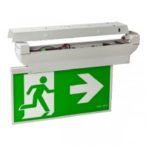 Ceiling Blade Exit Lights Sign LED 24m Commercial Lighting