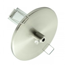 Downlight Recessed Pendant Light Canopy Brushed Chrome