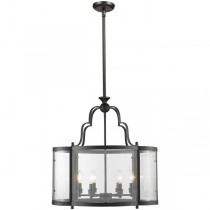 Lantern Lighting Rutherford 6 Lights Pendants Large Ceiling Traditional Period