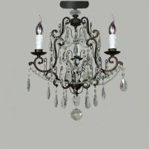 Salzburg Flush Lighting Crystal Chandelier Lights Classical Lode International
