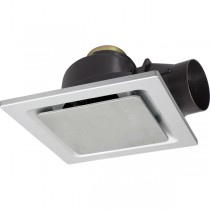 Brilliant Lighting 18194 Square Exhaust Fan Bathroom Toilet Fumes