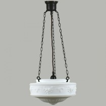 Senator 3 Chain Pendants Lights Patina Black Suspensions Lode Lighting Traditional