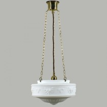 Senator 3 Chain Pendants Lights Suspensions Lode Lighting Brass Traditional