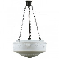 Patina Black Large Senator 3 Chain Pendants Lights Lode International Suspensions Lighting Traditional