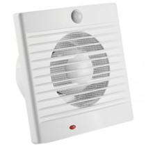 PIR Sensor Wall Mounted Fans Bathroom Exhaust Window Laundry 150mm Sensa-Flow