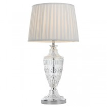 Sigrid Crystal Table Lamps Chrome Lights Telbix Lighting