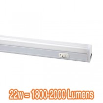 Slimline 22w LED Cabinet Lights Skinny Cafe Lighting Bench Bulkheads