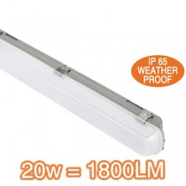 Basement Lighting LED SL9721 Kew 20w IP65 Weatherproof Batten Lights