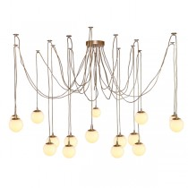 Modo Jason Miller Brass Spider Pendants Lights Ceiling Lighting