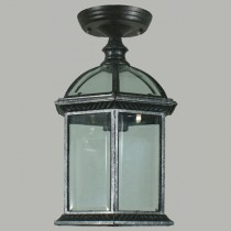 Station Outdoor Eave Lights Black Exterior Lighting Period