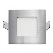 Stow Square LED Wall Light Nickel