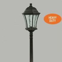 Strand Domain Outdoor Post Lights Bronze Heavy Duty Driveway Bollard Lighting