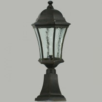 Traditional Outdoor Light Pillar Mount Strand Lighting