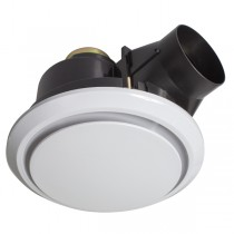 White Bathroom Exhaust Fan Talon 18190 Brilliant Lighting