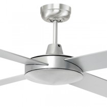 "Aluminium Bedroom Ceiling Fans Tempest 52"" AC Timber Brilliant Lighting"