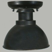 Terminal Outdoor Under Eave Light - Antique Bronze