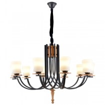 Grand American Lighting Wrought Iron Chandelier Lights Pendants