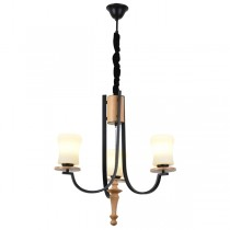 Trump Modern Timber Chandelier Lights Pendants Lighting Wrought Iron
