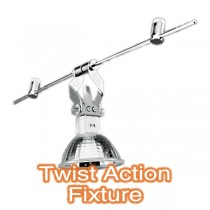 Twist Action Fixture Trapeze Lighting Commercial Ceiling Shop Window Light