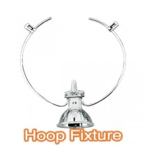 Hoop Fixture Trapeze Lighting Commercial Ceiling Shop Window Light